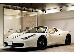 フェラーリ 458スパイダーD車 フォージアート22 ロベルタ前後 カーボンエアロ 可変