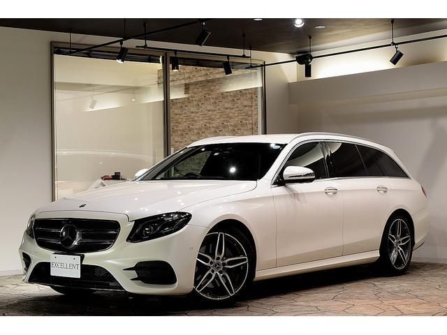 メルセデス・ベンツ E250ワゴンAGスポーツDホワイト 本革仕様 後席モニター