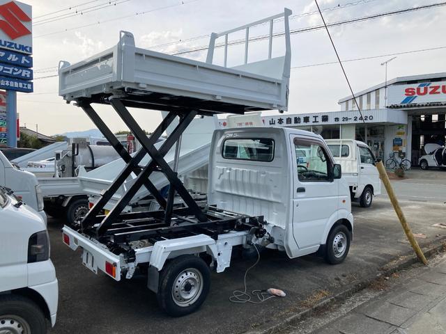 スズキ KCエアコン・パワステ リフト&ダンプ 5速MT 3方開 4WD