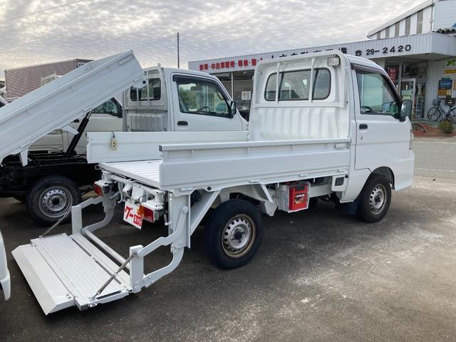 ハイゼットトラック コンパクトテールリフト パワーゲート アーム式 ETC 5速MT エアコン