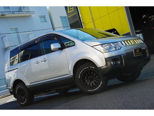 三菱 デリカD:5 GパワーPKG4WD新品アルミタイヤUSB7人...