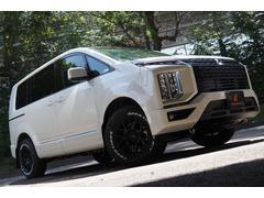 デリカD:5G パワーパッケージ 4WD 登録済未使用車 CS758マッドブラックパッケージ 新品KMCアルミ 新品オープンカントリーホワイトレタータイヤ カモフラマッドフラップ アラウンドビューモニター Pバック