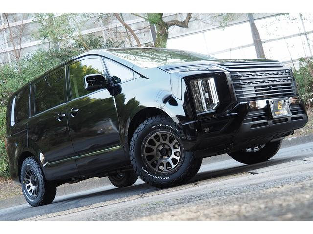 三菱 デリカD:5 G 4WD 登録済未使用車 チッピング アラウンドビューモニター  両側パワスラ ケンウッドナビ フルセグ Bluetooth ETC ステアリングリモコン レーダークルーズ 衝突軽減システム