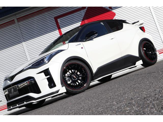C−HR(トヨタ) S GRスポーツ スリーピース新車コンプリート ノブレッセver.エアロ&ウイング&マフラー RAY 中古車画像