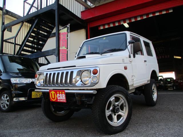 スズキ HA 4WD ターボ 5速MT リフトアップ レカロシート メッキグリル