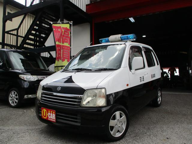 スズキ ワゴンR FM-G 自主防犯活用自動車