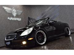 レクサス SC430左ハンドル 黒革 電動オープン 新品車高調 WORK19AW