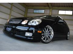 レクサス GS300左H 新品車高調 社外19AW 黒革 SR 社外ヘッドライト