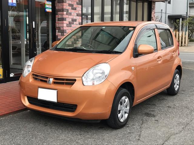 トヨタ X CVT オーディオ付 コンパクトカー オレンジ