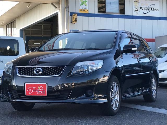 トヨタ カローラフィールダー 1.5X エアロツアラー スマートキー 社外15AW 純正エアロ CD