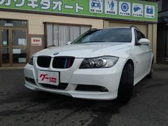 BMW325iツーリング社外HDDナビ地デジ黒革ETC