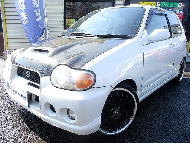 スズキ RS/Z  カーボンボンネット 吸排気 足回り 新AWタイヤ