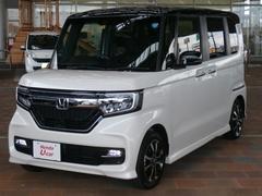 N BOXカスタムG・Lホンダセンシング 元当社試乗車 ナビ