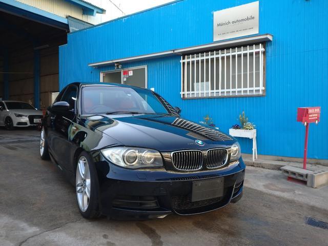 BMW 1シリーズ 135i 135i(4名)クイックシフトローダウン天張り張替え前後PDCクルーズコントロールメーカーオプションアラームシステム