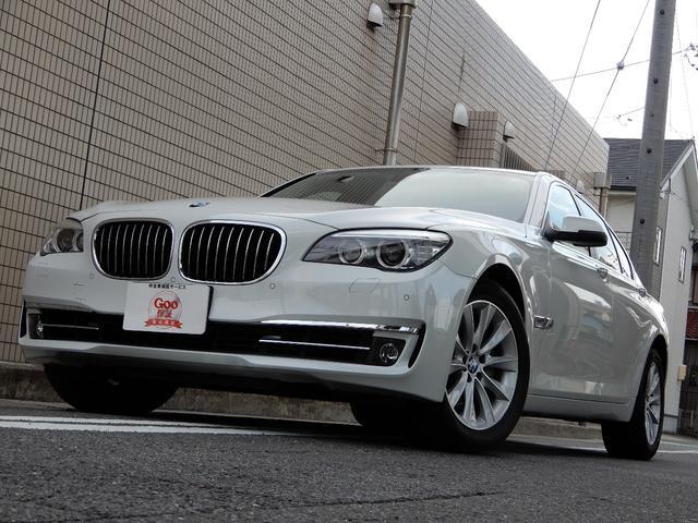 BMW 740iユーザー買取 車検整備付 タイヤ新品