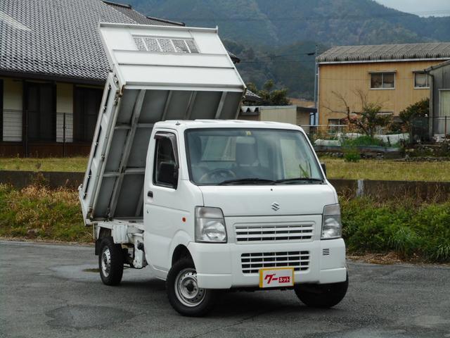 スズキ ダンプ エアコンパワステ 5速MT 4WD