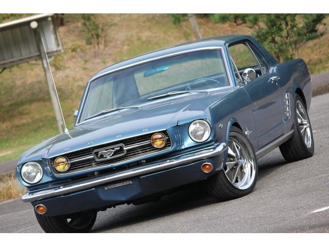 フォード マスタング  V8 298エンジン 1966y フルレストア エアコン パワステ オートマ ガレージ保管