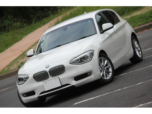 BMW 116i スタイル ツインターボ FR ハーフレザーシート アイドリングストップ スマートキー メモリーナビ フルセグTV ディーラー記録簿あり
