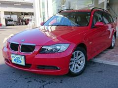 BMW320iツーリング社外HDDナビ 本皮シート ETC 買取車