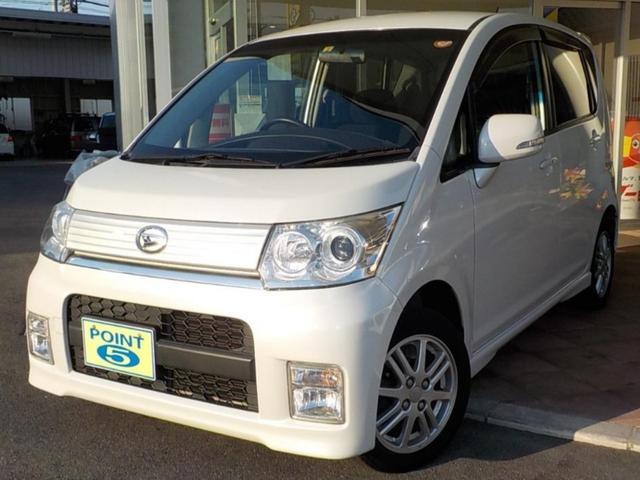 ダイハツ カスタム X 純CD スマートK HIDライト 禁煙 買取車