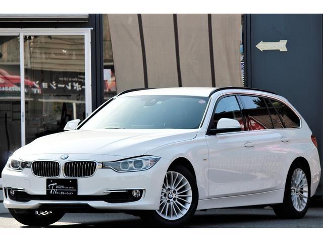BMW 320dラグジュアリーナビETCBカメラ黒革S Pバックドア