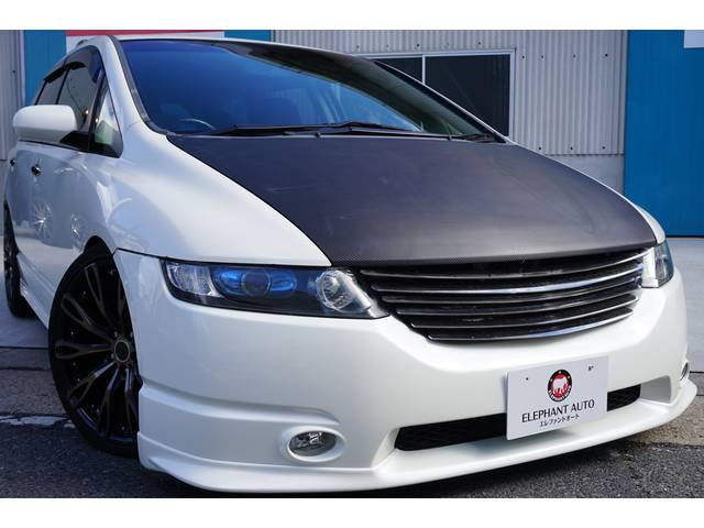 ホンダ アブソルート 社外ターボ車高調インタークーラー外マフラー