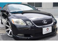 GSGS430 買取車禁煙車サンルーフ黒革純正ナビ車高調Bカメ