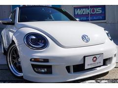 VW ザ・ビートルターボ サンルーフ本革社外エアロ社外ナビ19AW社外マフラー