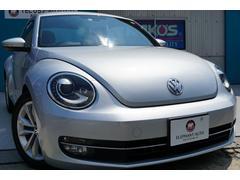 VW ザ・ビートルデザインレザーパッケージ 黒革キセノンクルーズコントロール