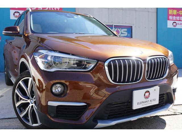 BMW X1 xDrive20iXラインハイラインPKG 4WD本革シート