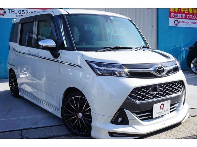 トヨタ タンク カスタムG S モデリスタエアロ17アルミ車高調スマアシII