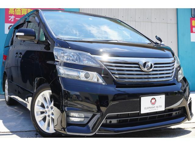 トヨタ 2.4Zプラチナムセレクション 純正ナビ後席モニ両側電動スラ