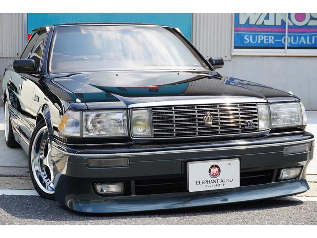 トヨタ クラウン ロイヤルサルーンG 買取車JPフルエアロマフラーサスコン