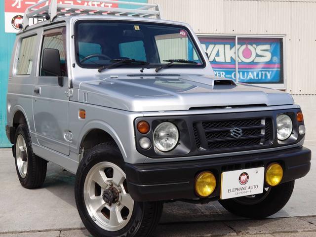 スズキ ジムニー ワイルドウインド 買取車ノーマル車ルーフキャリア4WD