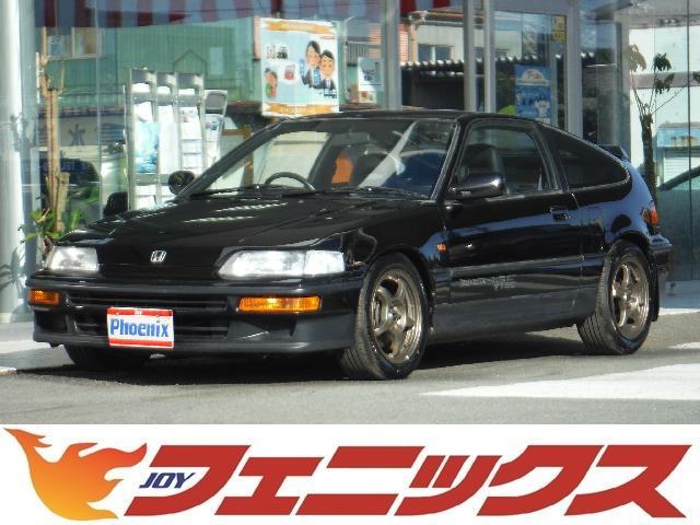 ホンダ SiR 純正5速MT・15アルミ・ローダウン・VTEC・CD・ハーフレザーシート・走行67,707km・
