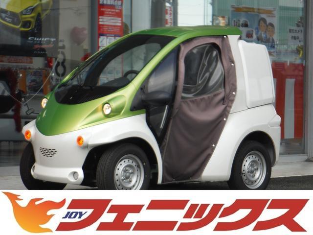 日本その他 日本  トヨタ コムス B-COM デリバリー EV車 OPIIトーンカラー OPキャンバスドア HI/LO切替スイッチ 家庭用電源OK