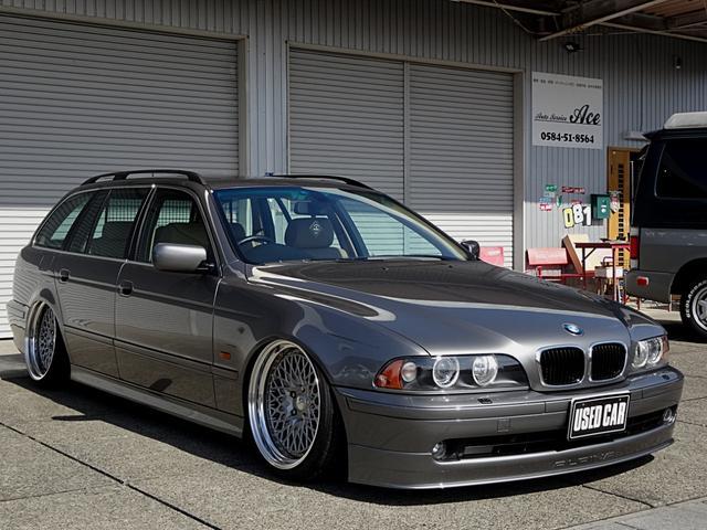 BMW 530iツーリングハイライン エアサスキット WORK19