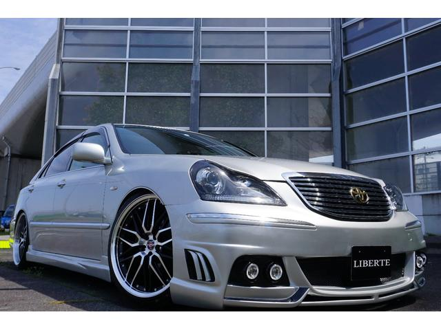 トヨタ 新品フルエアロ 新品20AW エアサス 黒革調 LBコンプ