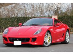 フェラーリ 599F1 LEDハンドル カーボンブレーキ HDDナビ