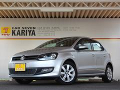 VW ポロTSIハイラインターボ HDDナビ フルセグ ETC 禁煙車