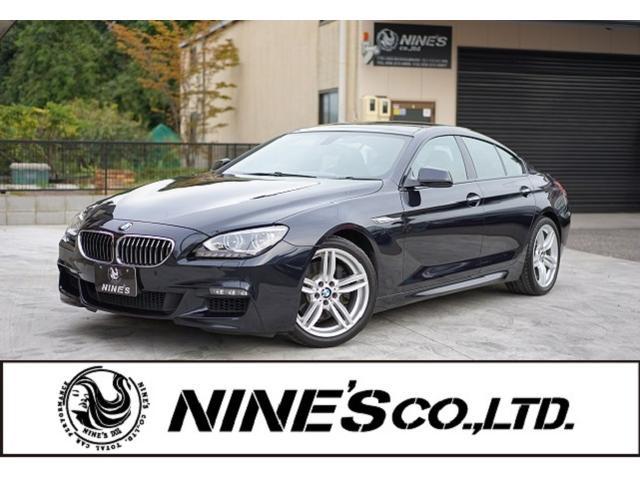 BMW 640iグランクーペ Mスポーツパッケージ 記録簿 黒革