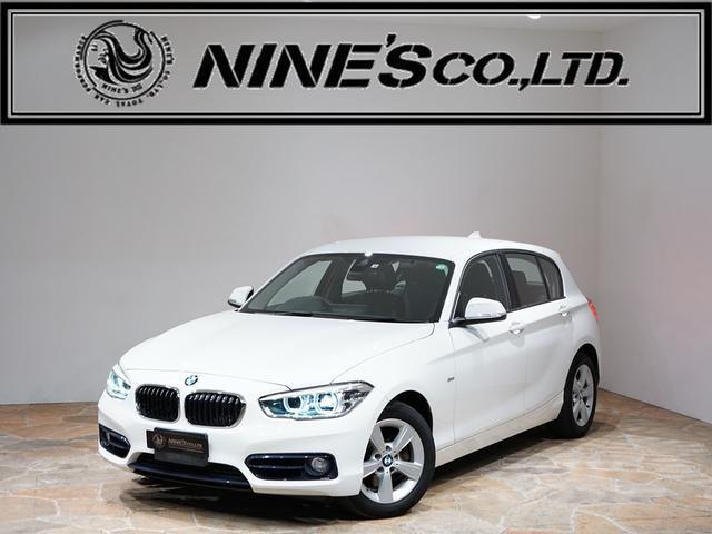 BMW 1シリーズ 118d スポーツ 地デジチューナー リアカメラ レーン・ディパーチャーウォーニング インテリジェントセーフティ フルセグTV クルーズコントロール ステアリングスイッチ ミラー内蔵ETC エンジンプッシュスタート スポーツ専用シート