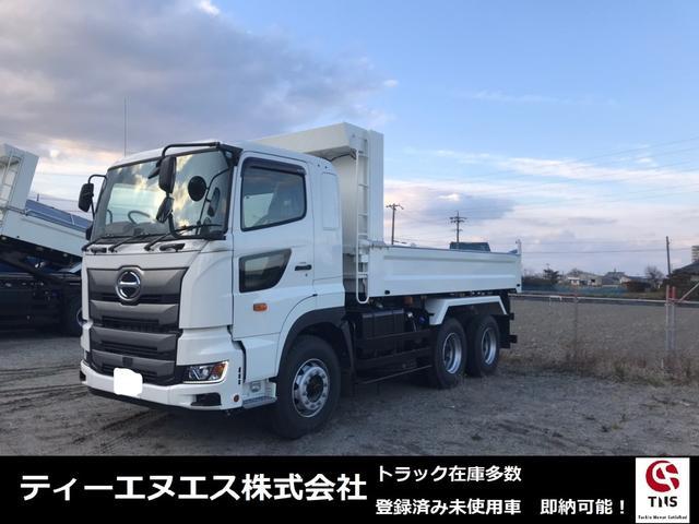 日野  新明和 荷台寸5,300 最大積載9,200kg