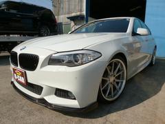 BMW523i Mスポーツパッケージ ワーク20AW ダウンサス