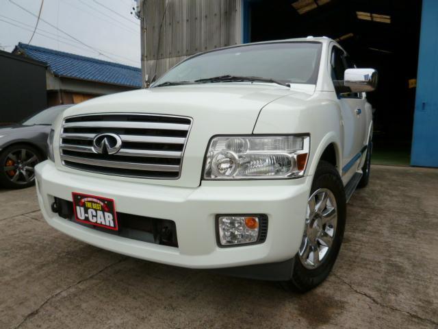 インフィニティ 4WD 1ナンバー ナビ 地デジ ETC HID