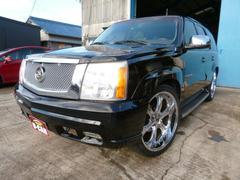 キャデラック エスカレード1ナンバー 4WD 24インチアルミ HID ETC