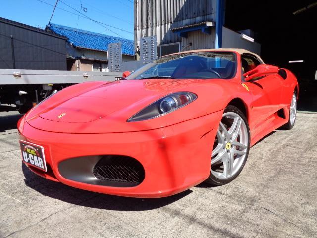 フェラーリ F1 クラッチ残量90% 内装リペア カーボンパネル