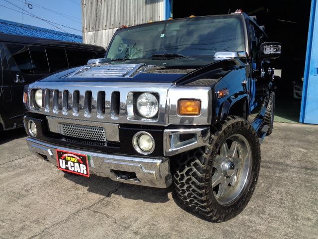 ハマー 4WD 1ナンバー マッチペイント 22AW HDD ETC