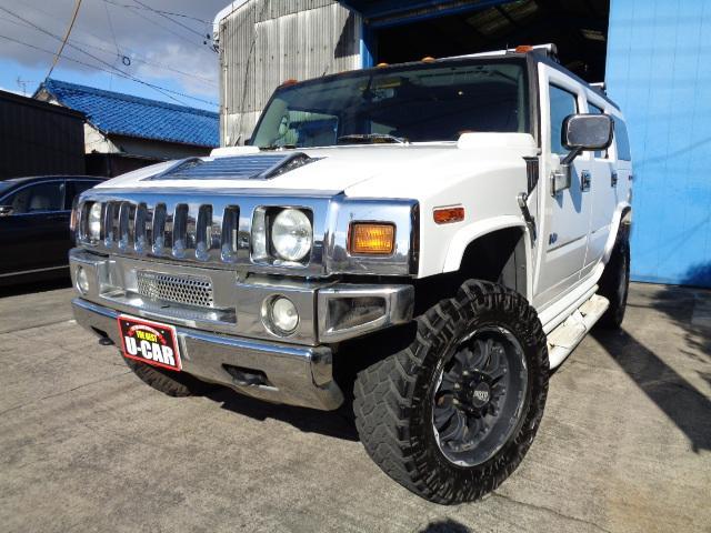 ハマー 4WD 1ナンバー 20AW 社外マフラー ナビ ETC