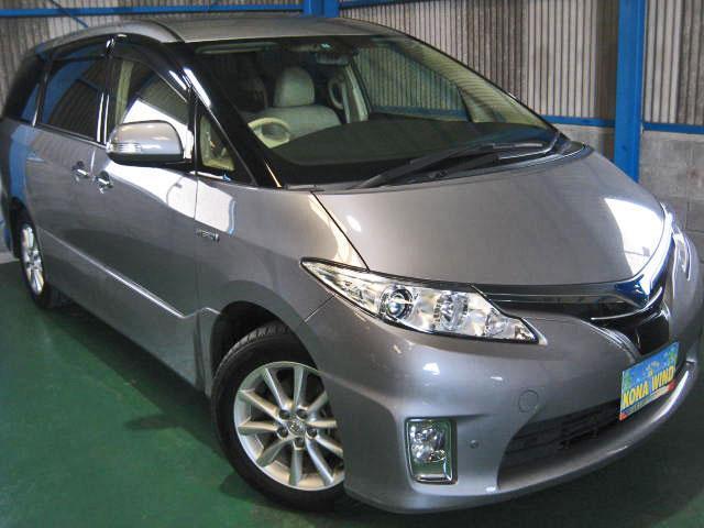 トヨタ G 4WDプリクラLKAレダクル革パノラビュCソナサイドAB